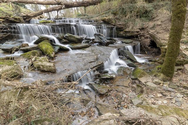 Short Cave Falls, Short Cave Creek, Putnam County, Tennessee 3