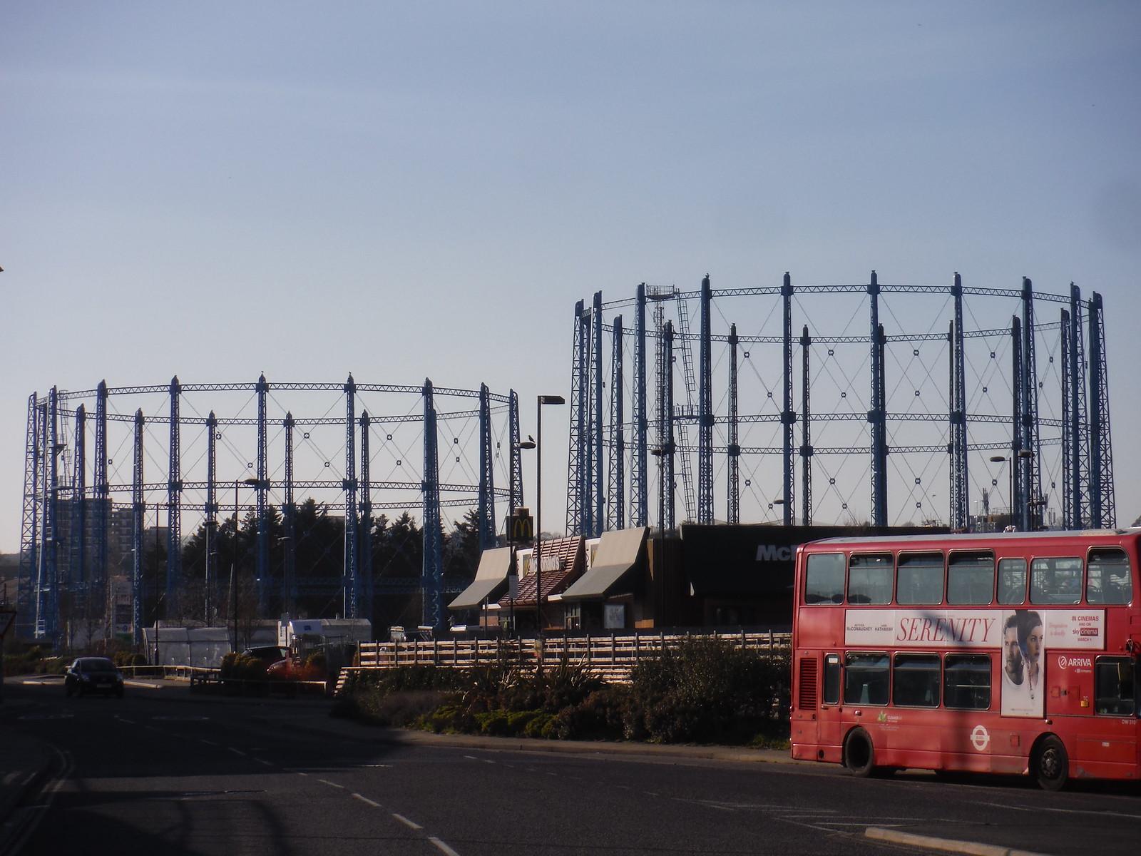 Ex-Gasworks Site at Bell Green SWC Short Walk 36 - Waterlink Way (Lower Sydenham to Greenwich)