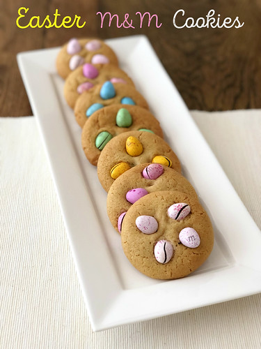 Easter M&M Cookies | by DolceDanielle