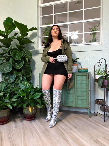 snake print boots   by nadiaaboulhosn