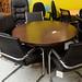 Circular meeting table podium base E100