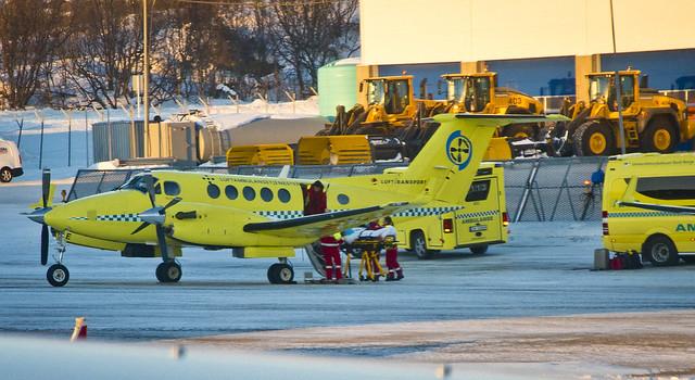 Ambulancia alada / Winged ambulace