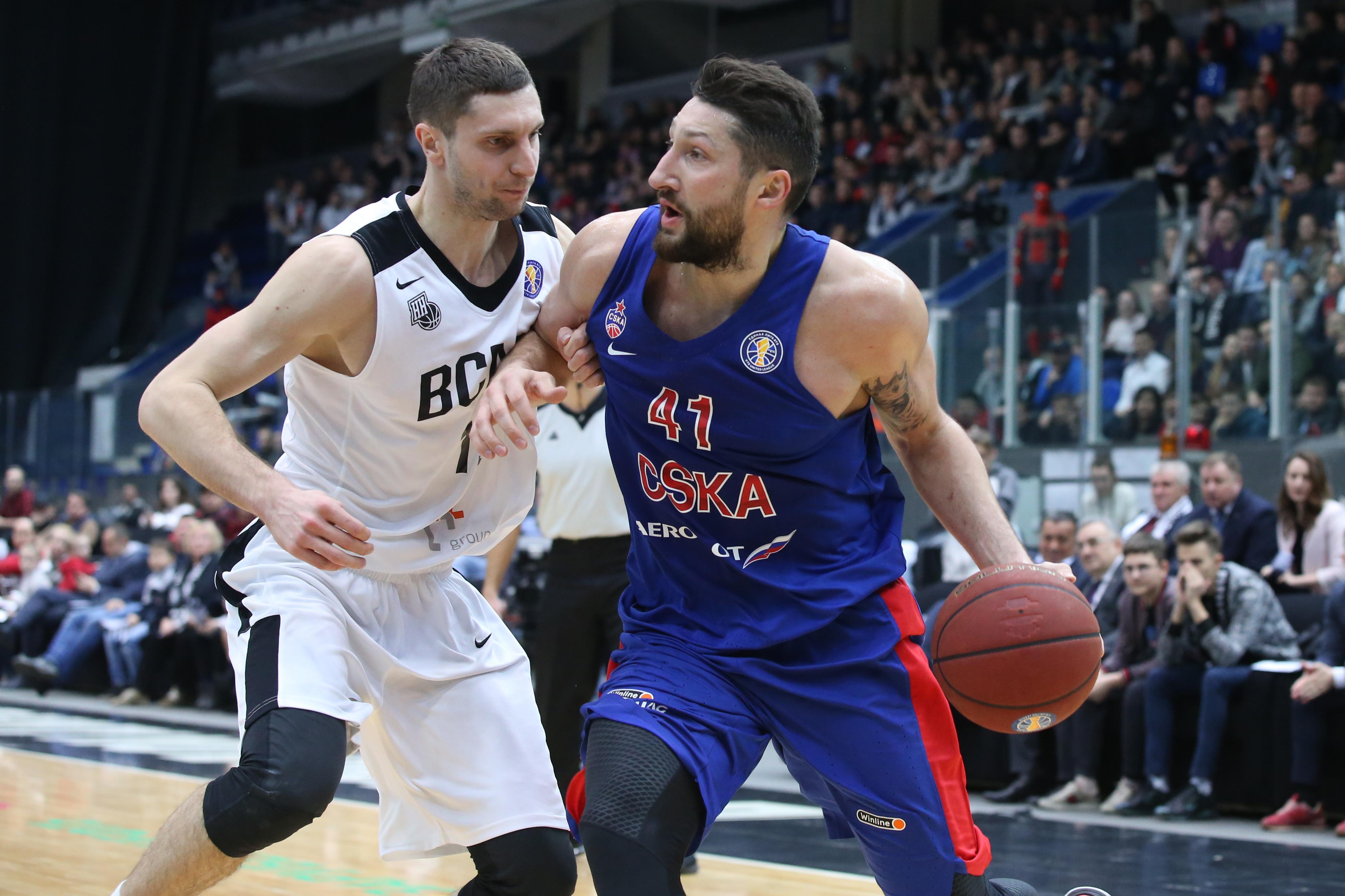 09/04/2019 Nizhny Novgorod-CSKA 89:95