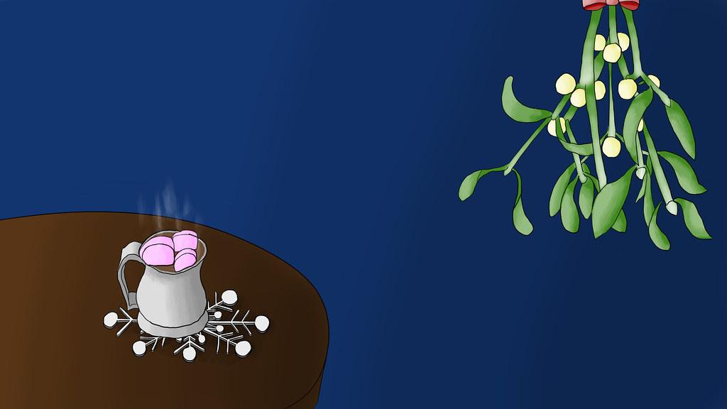 Mistletoe + Hot Chocolate