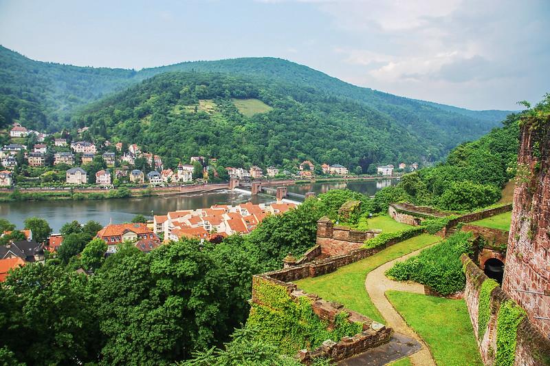 海德堡城堡俯瞰老城區 4