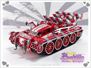 Belville T-42 'Sugarcube' MLRS | by D-Town Cracka