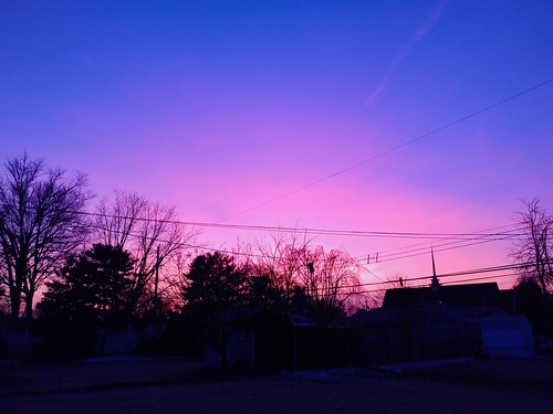 sunset sky pinksky bluesky fairlesshillspa pennsylvania