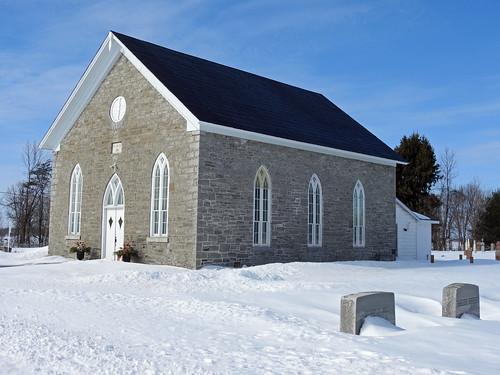 morewood ontario canada winter hiver snow neige northdundastownship crysler northwinchester morewoodpresbyterianchurch church église presbyterian revbrucekemp