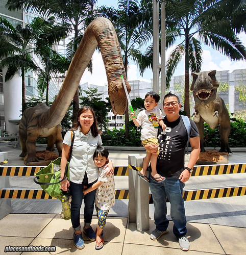 dinosaur alive paradigm mall pj places and foods | by placesandfoods.com