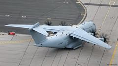 Royal Air Force Airbus Military A400M Atlas C1 ZM409 departing RAF Gibraltar/LXGB
