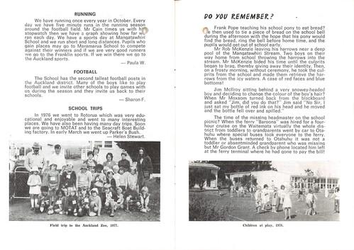 Mangatawhiri School - Centennial Booklet   by Archives New Zealand