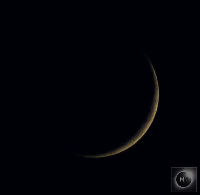6% Waxing Crescent Moon 08/01/19