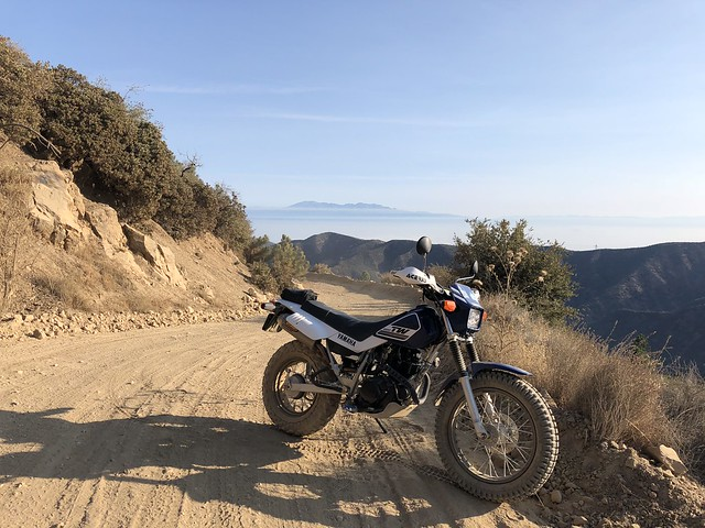 Yamaha TW200 GCRad1