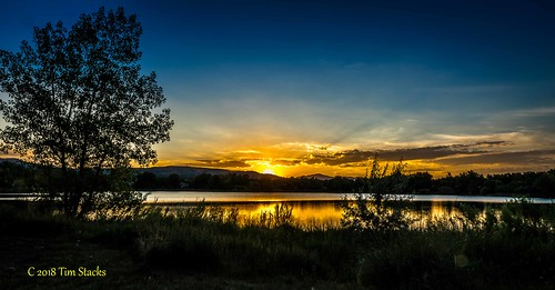 colorado kendricklake lake lakewood landscape outdoors sunset usa water hanks tim for invites optical
