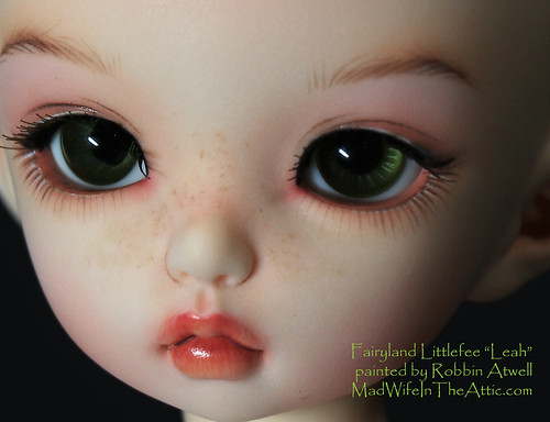 "Fairyland Littlefee ""Leah"" painted by Robbin Atwell 