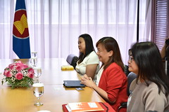 Courtesy call by ACB Executive Director Courtesy Call, Ms. Theresa Mundita Lim