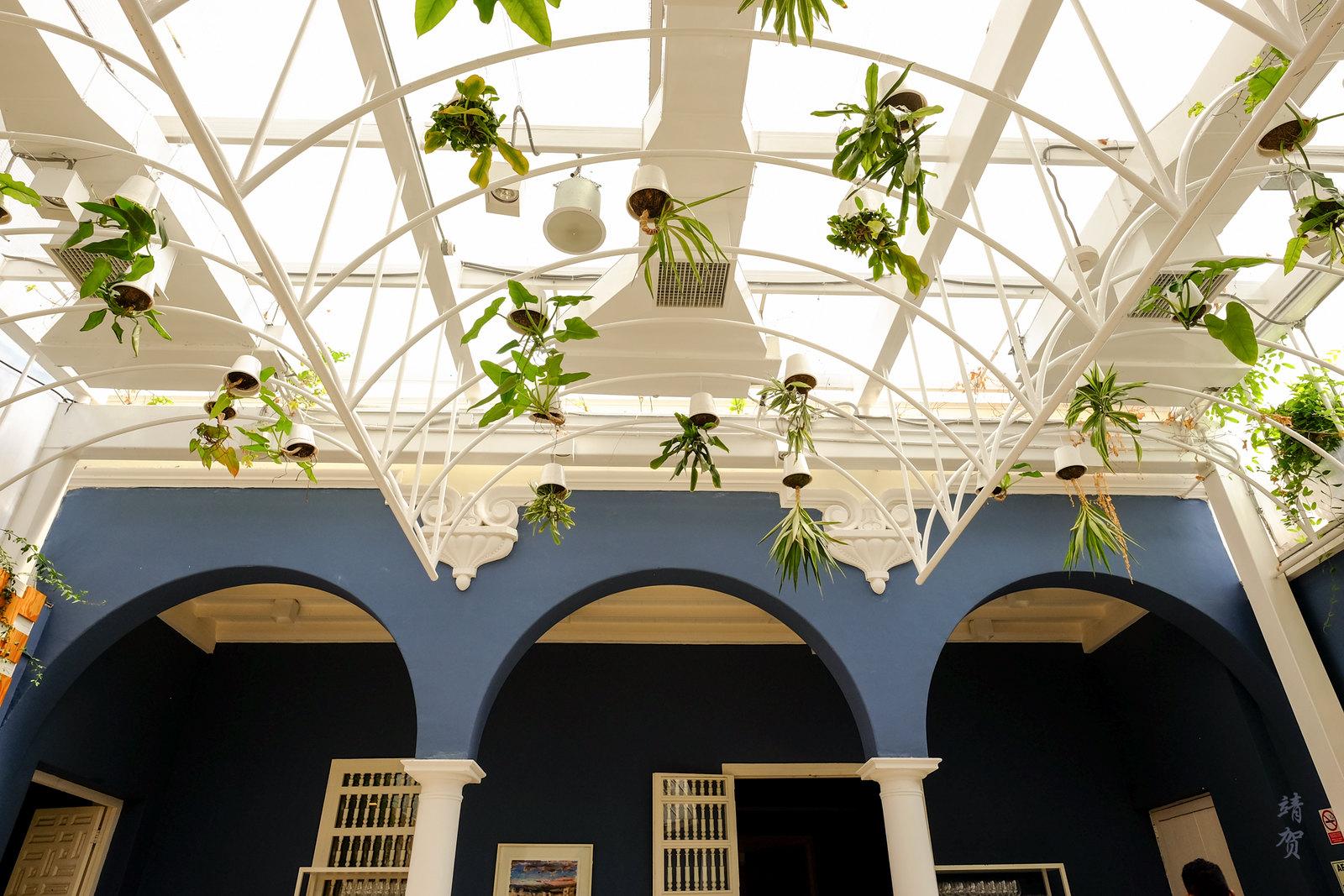 Atrium of the restaurant