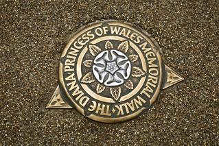 Princess Diana Memorial Walk, London, UK