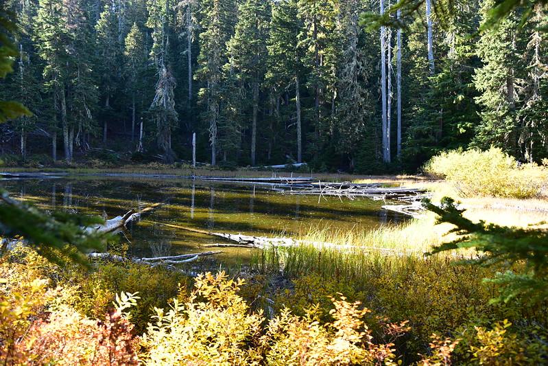 Boulder Lake and Bonney Butte
