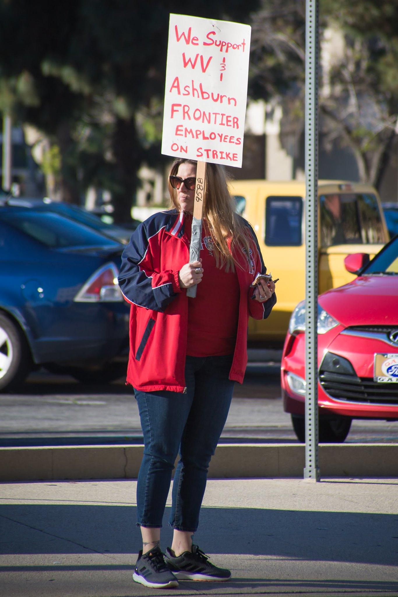 Frontier Strike Solidarity Action in California