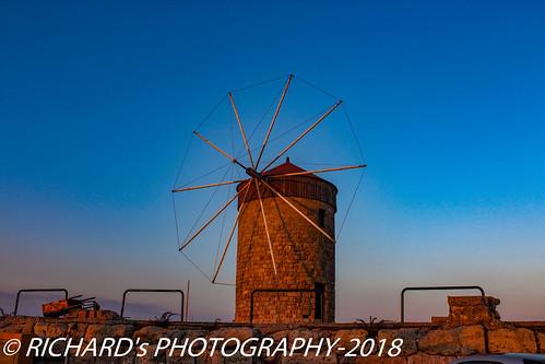 The Windmills of Mandraki   by nature   landscape photography