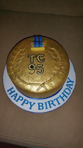 Medal birthday cake | by platypus1974