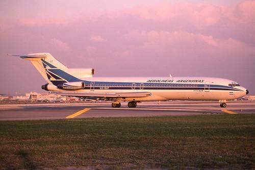 lvolp boeing 727 200 aerolineas argentinas mia miami