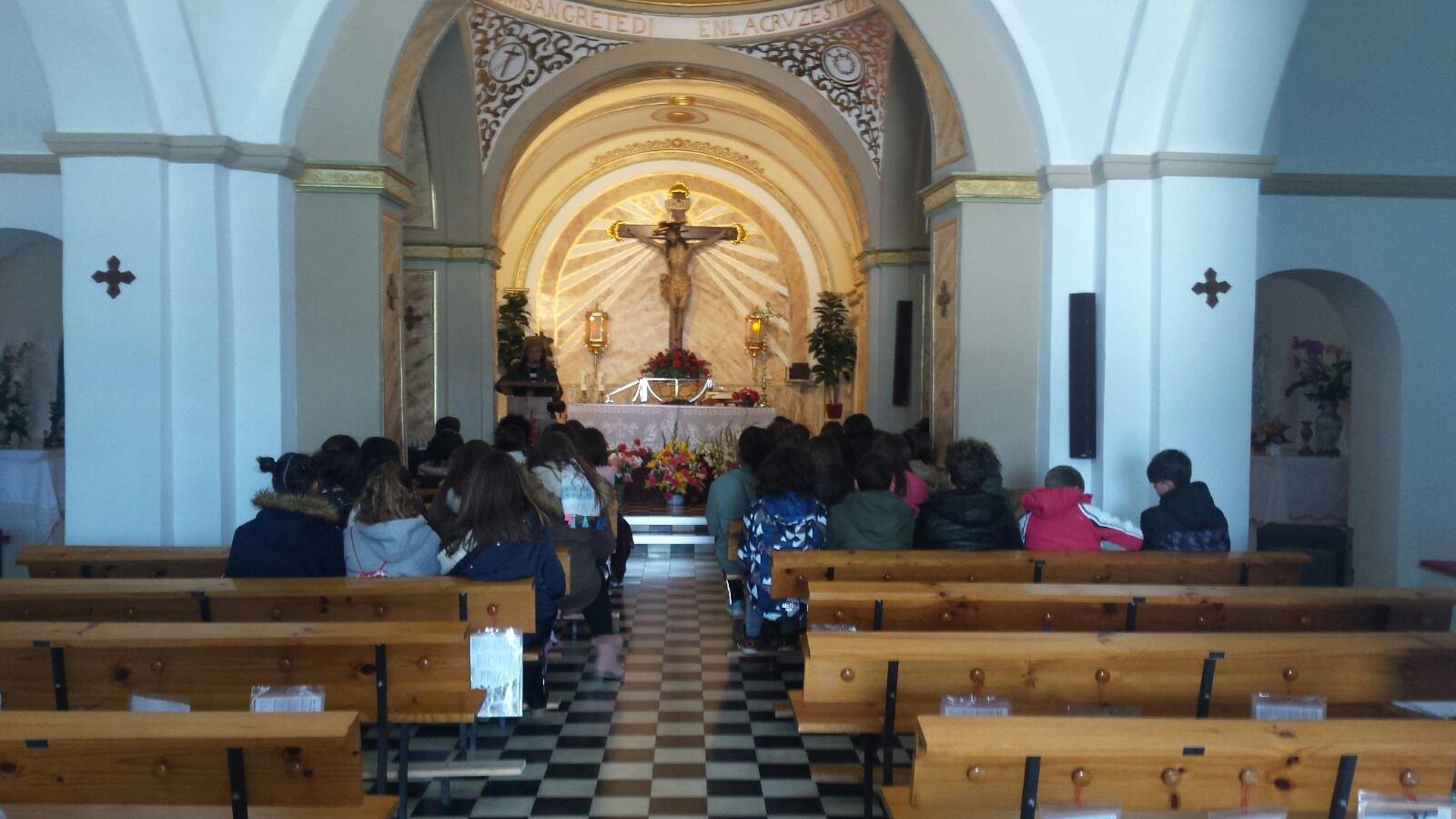 (2018-03-19) - Visita ermita alumnos Yolada-Pilar,6º, Virrey Poveda-9 de Octubre - Maria Isabel Berenquer Brotons - (17)