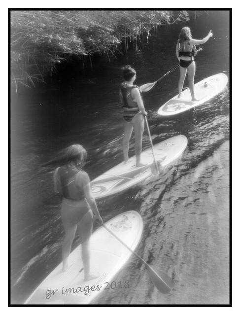 pretty paddlers