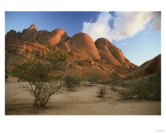 Namibia, Pontok mountain sunrise