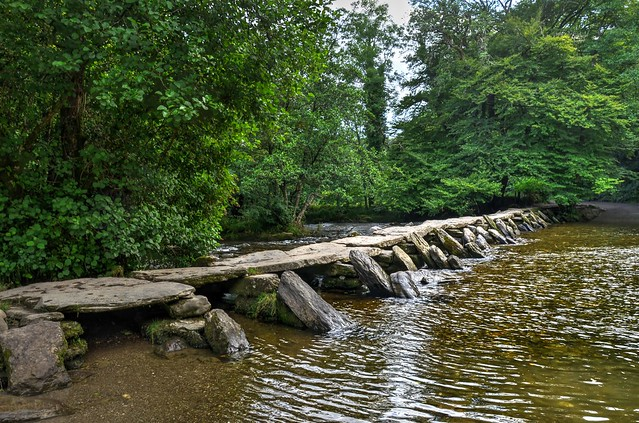 Tarr Steps, Exmoor, West Somerset
