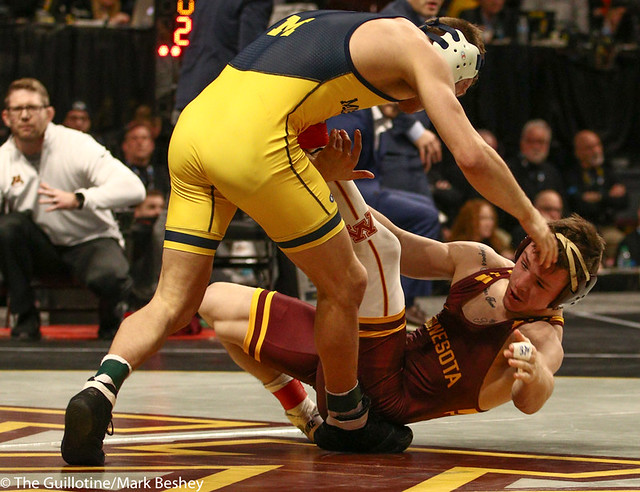 Cons. Semi - Mitch McKee (Minnesota) 20-5 won by decision over Kanen Storr (Michigan) 24-6 (Dec 12-6) - 190310cmk0033