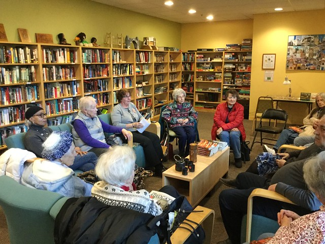Senior Center Book Discussion on February 19, 2019