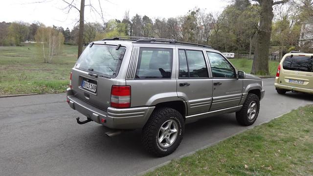 1997 Grand Cherokee ZJ 5.9 Limited LX von JEEP An der Rehwiese in 14129 Berlin-Nikolassee