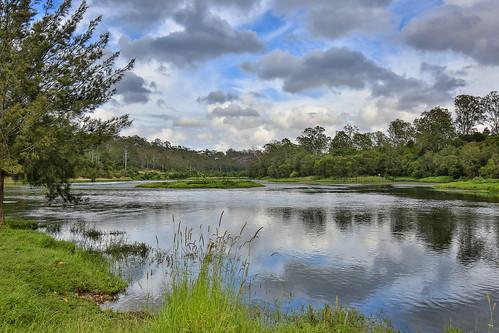 water sky landscape ipswich4306 collegescrossing tree waterscape ipswichqueensland australia