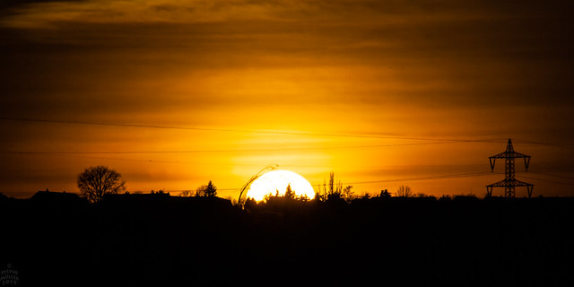 Sunset / @ 300 mm / 2019-02-04