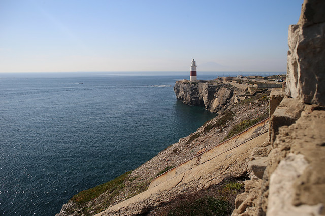 View back to Europa Point