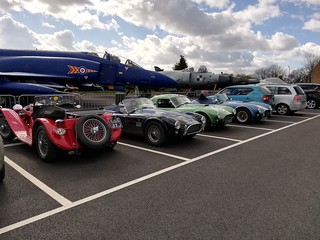 T289R South gather at Tangmere Military Aviation Museum | by The 289 Register