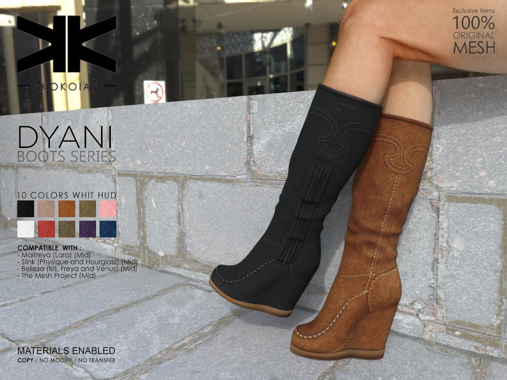 Dyani :: Woman Boots :: 10 Colors | Purchase | Shop in Secon