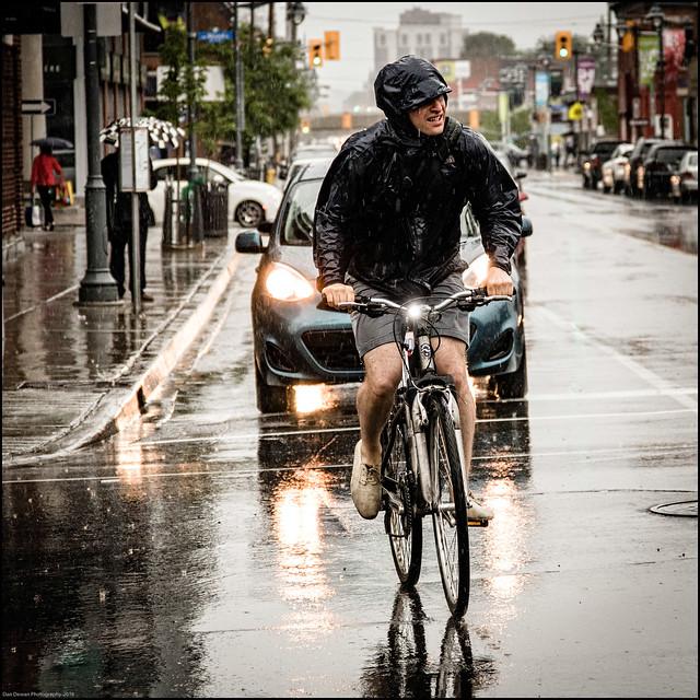 Norco rain Rider on Bank Street