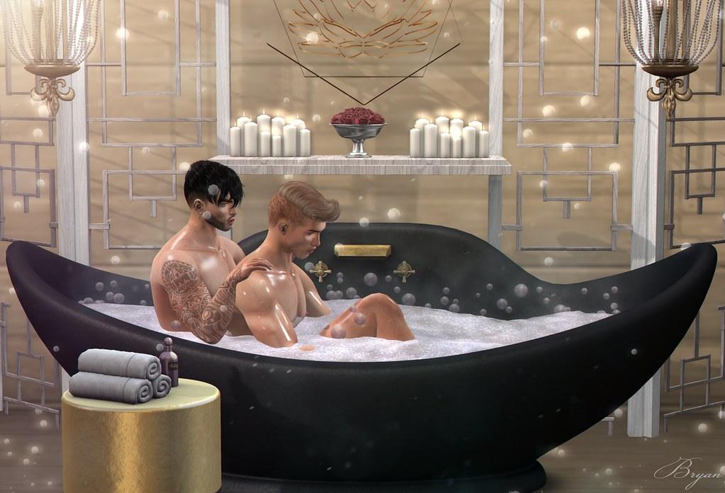 romantic bathtub hair fire - 1023×696