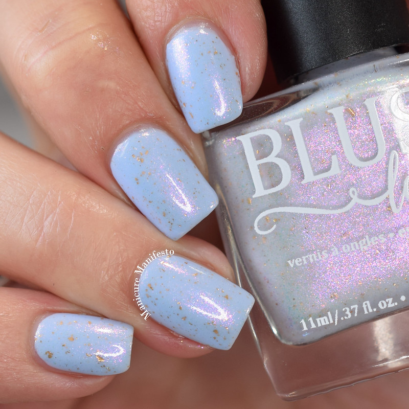 Blush Lacquers Silver Lining Review
