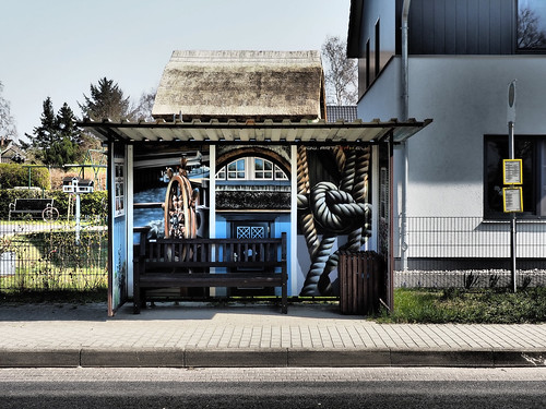 Busstop at Born 1 | by r6-m7