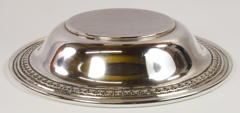 RD27847 Vintage Sterling Silver Bowl Dish 536 RD Richard Dimes 74 Grams DSC00262