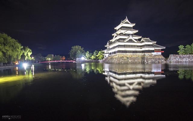 Matsumoto Castle Reflection - Matsumoto (Japan)