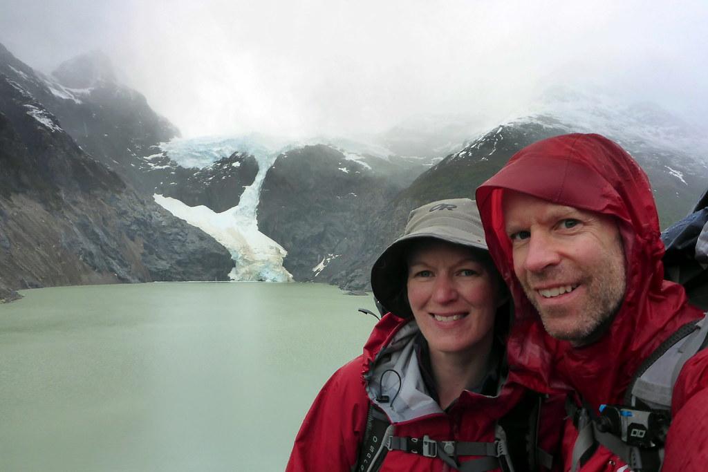 Arriving Closer to Los Perros Glacier