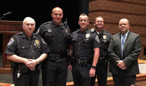 Congratulations to Speedway's Newest Two Officers