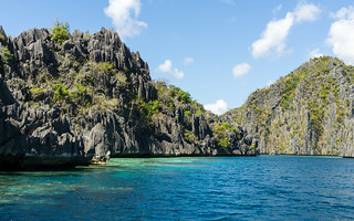 Hopping islands in Coron   by Trekpedition.Com