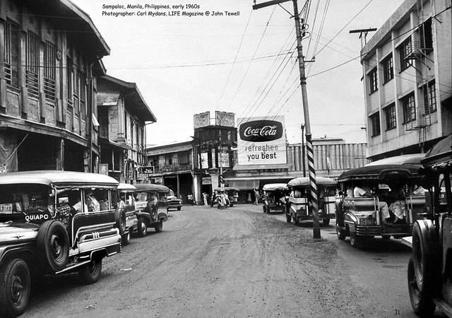 Sampaloc, Manila, Philippines, early 1960s