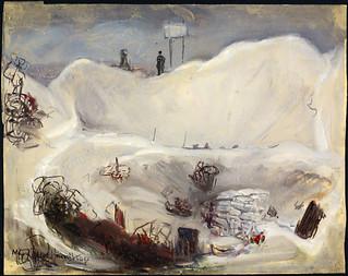 Loose Mine Crater, Hill 70, France / Cratère formé par l'explosion d'une mine, cote 70, France